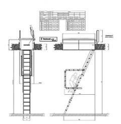 Escalera escamoteable aci terraza - Escalera escamoteable precio ...